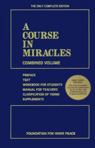 A Course in Miracles: Combined Volumeの詳細を見る
