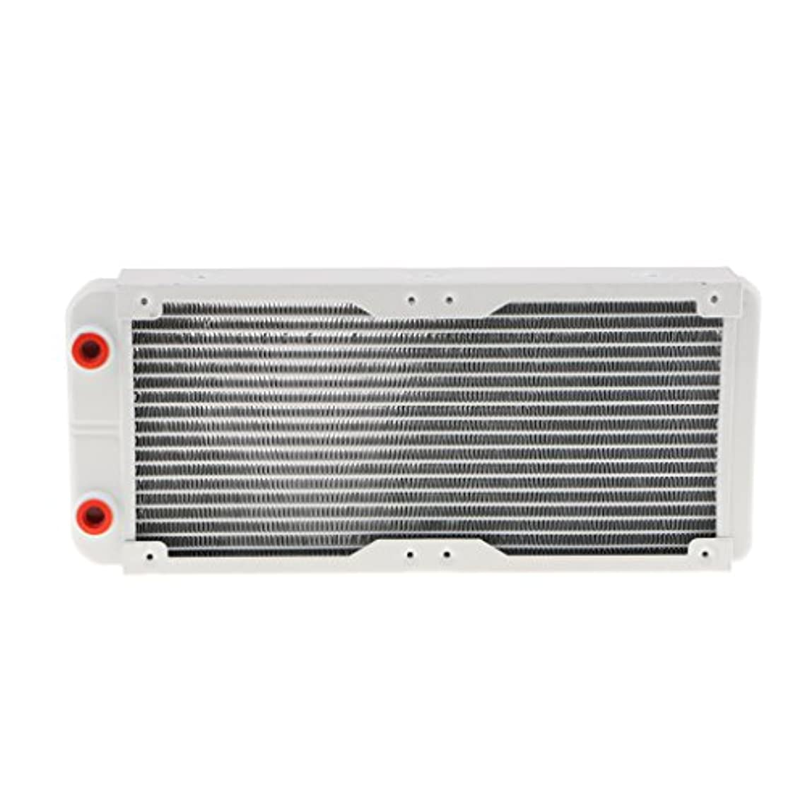 火薬省信頼性多機能 コンピューター G1/4 18 ライン ラジエーター 水冷却クーラー CPUヒートシンクに対応 - 240mm