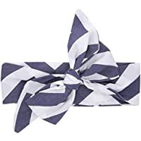 Fashion Wave Pattern Baby Infant Toddler Kids Headband Hair Wrap Photography Prop Hair Bows Elastic for Girls(#1)