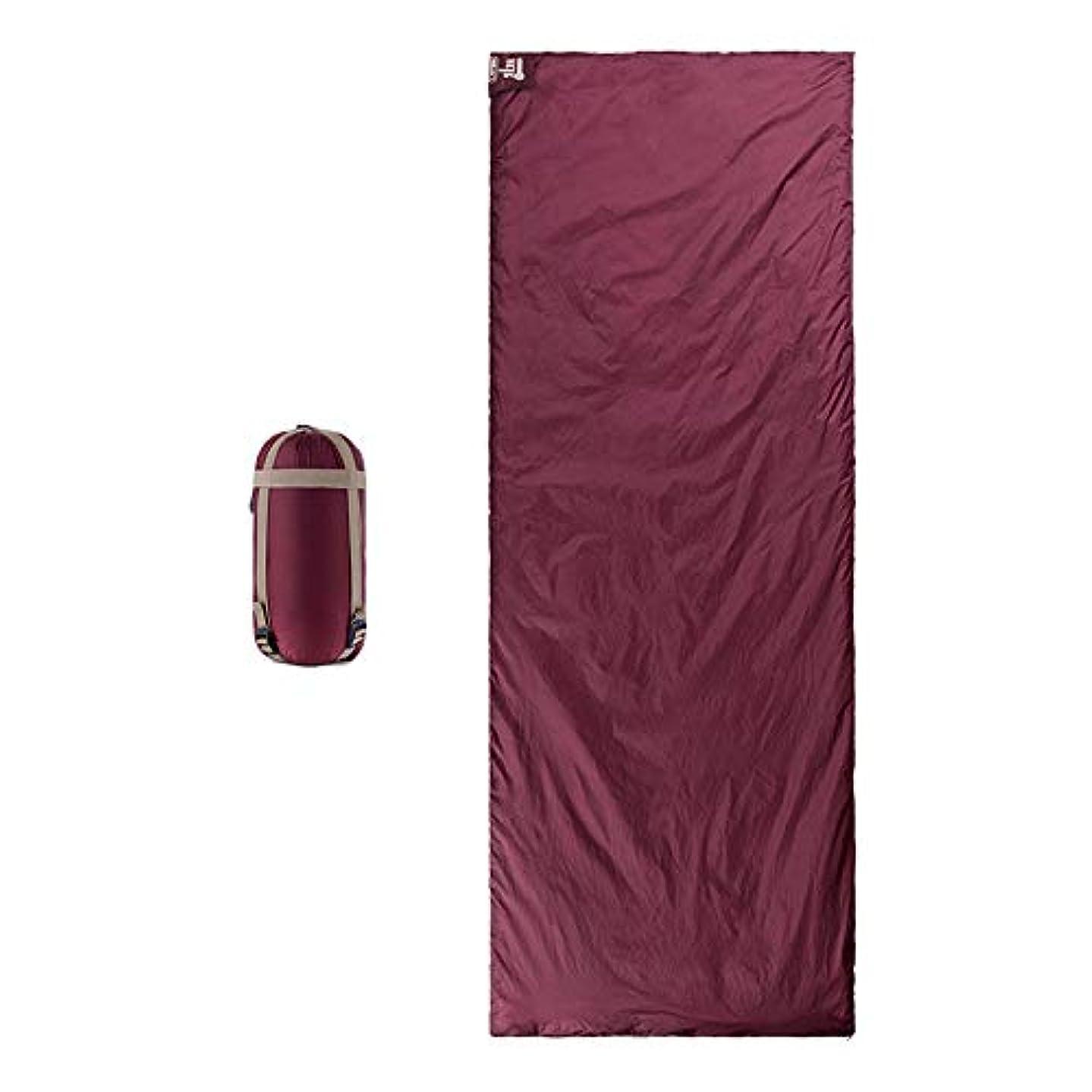 部グリップチャンピオン屋外旅行寝袋 ハイキング封筒寝袋 最低使用温度8度 多機能キャンプ用寝袋 春 夏 秋のため 連結可能 防災対策