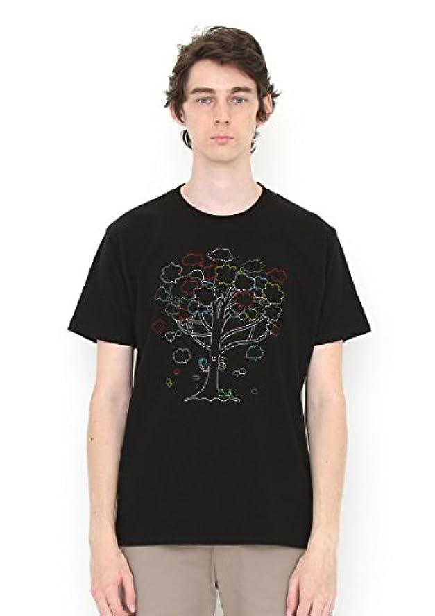 車両アスレチックポジティブ(グラニフ) graniph Tシャツ シンキングツリー (ブラック) メンズ レディース