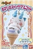 おかしなスイーツマスコット 【2.コマさんとソフトクリーム】(単品) バンダイ 妖怪ウォッチ 食玩