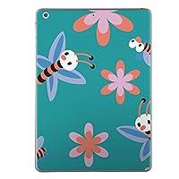 iPad Air スキンシール apple アップル アイパッド A1474 A1475 A1476 タブレット tablet シール ステッカー ケース 保護シール 背面 人気 単品 おしゃれ ユニーク キャラクター 花 004420