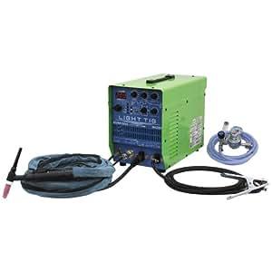 IKURA(育良精機) インバーター制御直流パルスTIG溶接機 ライトティグ IS-LT200