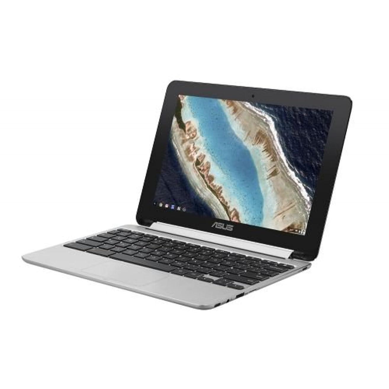 スラック必要としている主要なASUS Chromebook Flip C101PA-FS003 Chrome OS OP1 Hexa-core 10.1インチ メモリ 4GB eMMC 32GB Webカメラ
