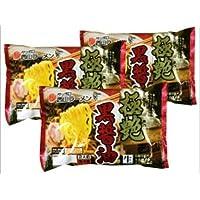 札幌西山製麺 極艶 黒醤油ラーメン2食入り×3袋(合計6食)セット