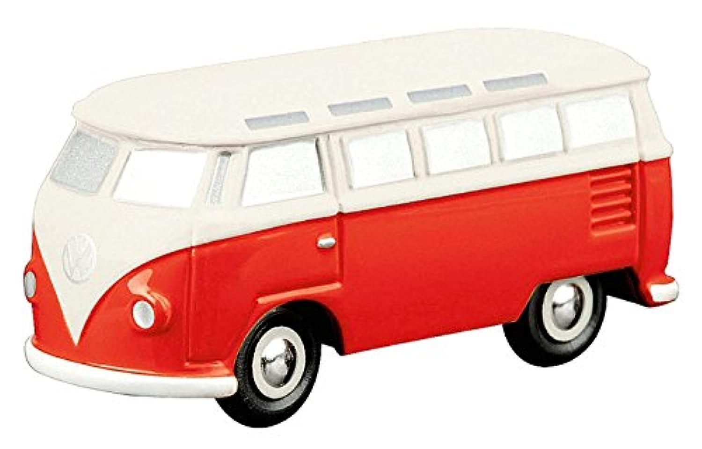シュコー ピッコロ VW T1 サンバ バス ベージュ/レッド 完成品