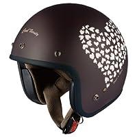 オージーケーカブト(OGK KABUTO)バイクヘルメット ジェット KL-mini フラットハートチャコール (サイズ:MINI)