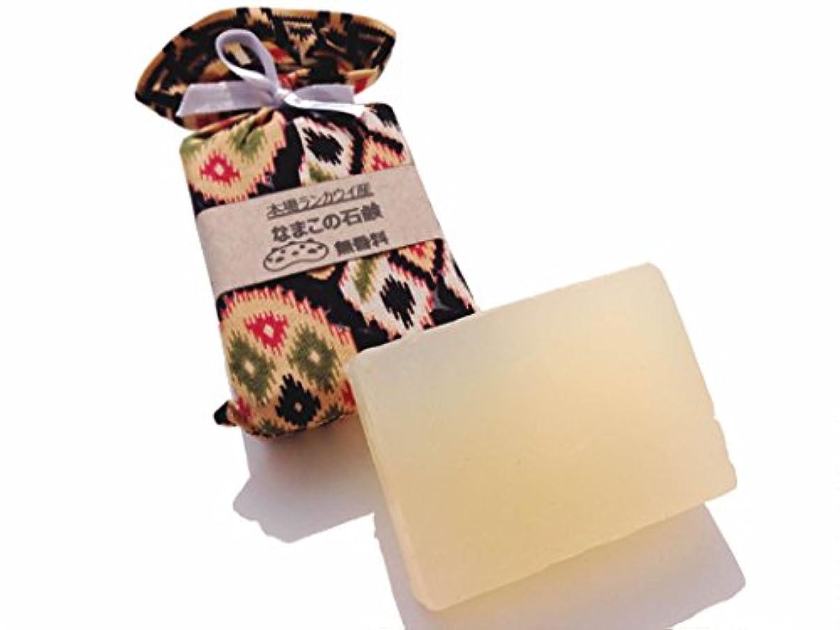 にじみ出る気まぐれなモールス信号なまこ石鹸 (ランカウイの伝説 無香料)