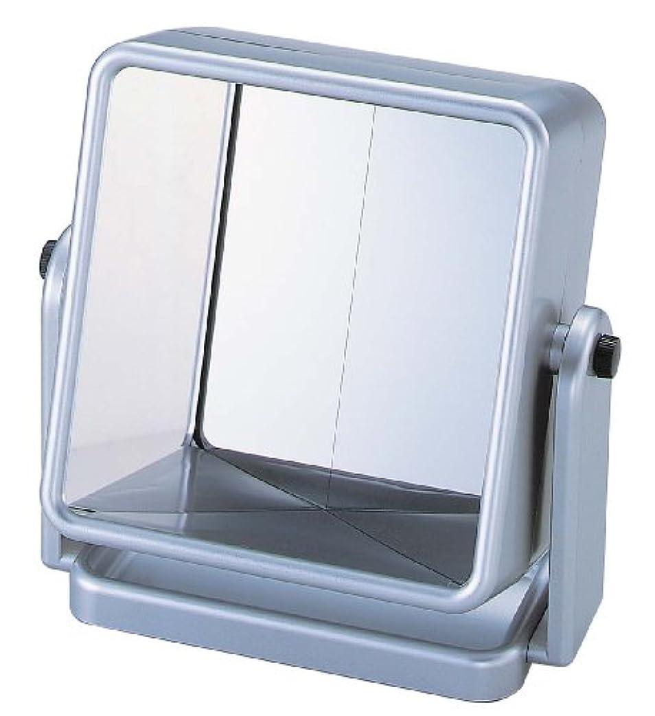 発表する寛容な重量リバーサルミラー シルバー YRV-005