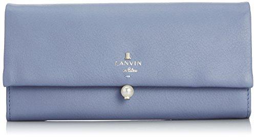 [ランバンオンブルー] LANVIN en Bleu シャペル フラップ長財布 480720 85 (ブルー)