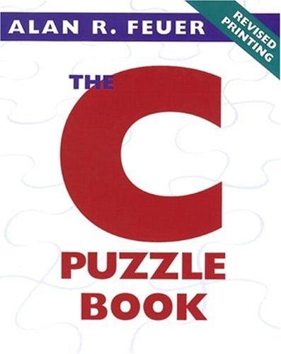 C Puzzle Book, The
