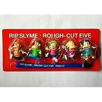RIP SLYME メンバーフィギュア5体付きオリジナル携帯ストラップ DVD RIP SLYME:ROUGH-CUT FIVE 初回限定外付け特典