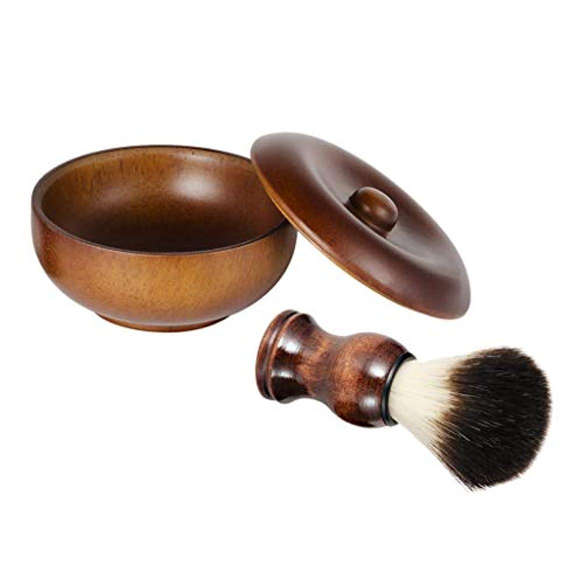 意識振る舞う連続的sharprepublic メンズ 髭剃り シェービングセット シェービングブラシ シェービング石鹸ボウル 理髪店 美容院 家庭