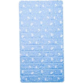【寝るだけで体感温度が-5℃】 水で冷えるジェルマット 抗菌・防カビ加工で衛生的 均等な冷却効果で冷えすぎない 75×140cm 安心の素材を使用 固まらない冷却マット (国際REACH安全検査合格)(白熊柄) 白熊柄 75×140cm