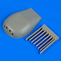 quickboost 1: 48P - 61ブラックウィドウAブラックWidow樹脂ガンTurrets for HobbyBoss Kit # qb48–643