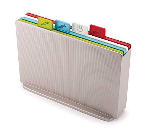 [Joseph Joseph] [ Index Chopping Board Set, Silver] (並行輸入品)