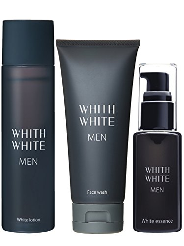 フィス 美白 メンズ 洗顔 & 化粧水 & 美容液 スキンケア セット 「30代~50代の 男性 専用」「 男 の しみ くすみ 完全対策 」( 男性用 化粧品 ) 95g & 120ml & 50ml