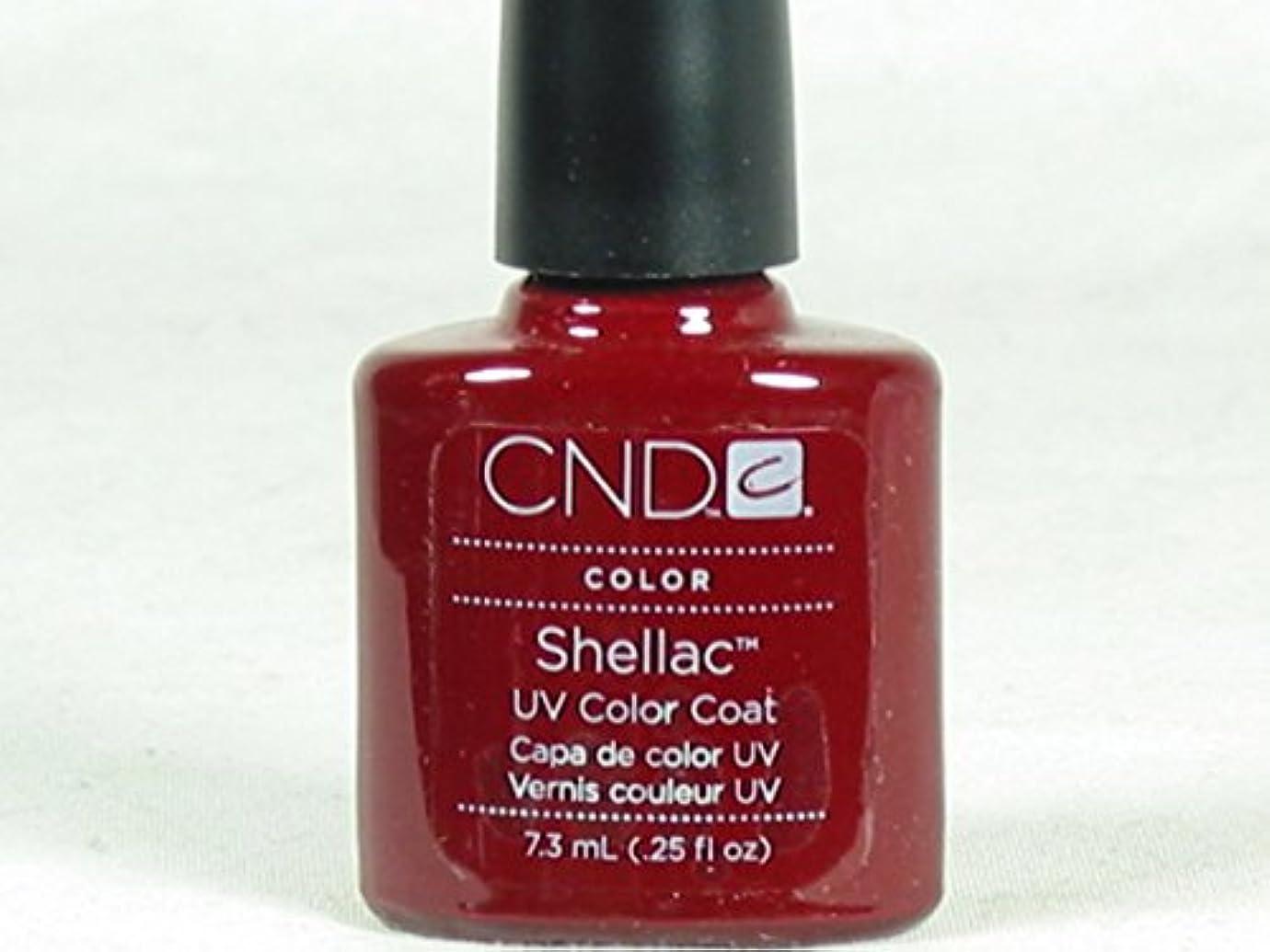 午後反応する価値CND シェラック UVカラーコート 525 7.3ml