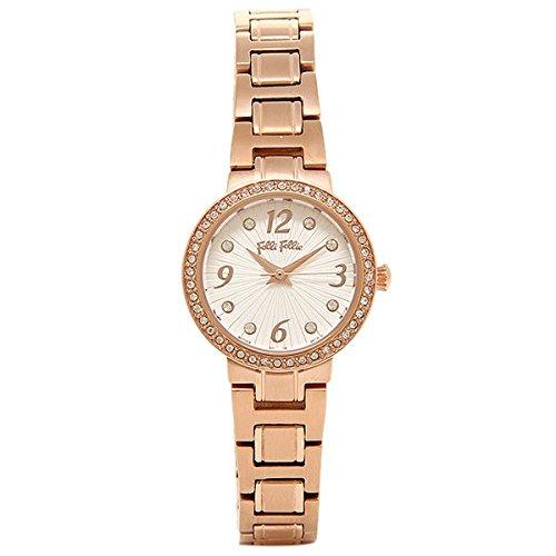 [フォリフォリ]Folli Follie レディース アリア 23ミリ ローズゴールド ステンレス ローズゴールドケース ホワイト文字盤 クリスタル WF2B015BSS-XX 腕時計 [並行輸入品]