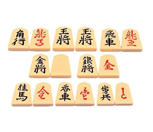 [해외]프라 장기 말 후신 (裏朱字)/Plus shogi piece walking pace (back dash)