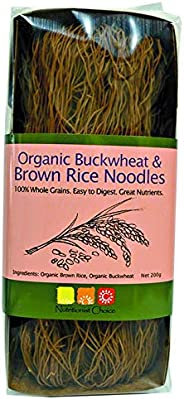 Nutritionist Choice Organic Buckwheat and Brown Rice Noodles, 200 g