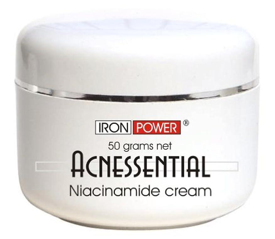 Acnessential 4%話題のナイアシンアミドクリーム  ゲル  ビタミンB3ナイアシンクリーム - ビタミンB3保湿クリーム、50g