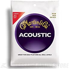 Martin アコースティックギター弦 ACOUSTIC(80/20 Bronze) M-140 Light .012-.054