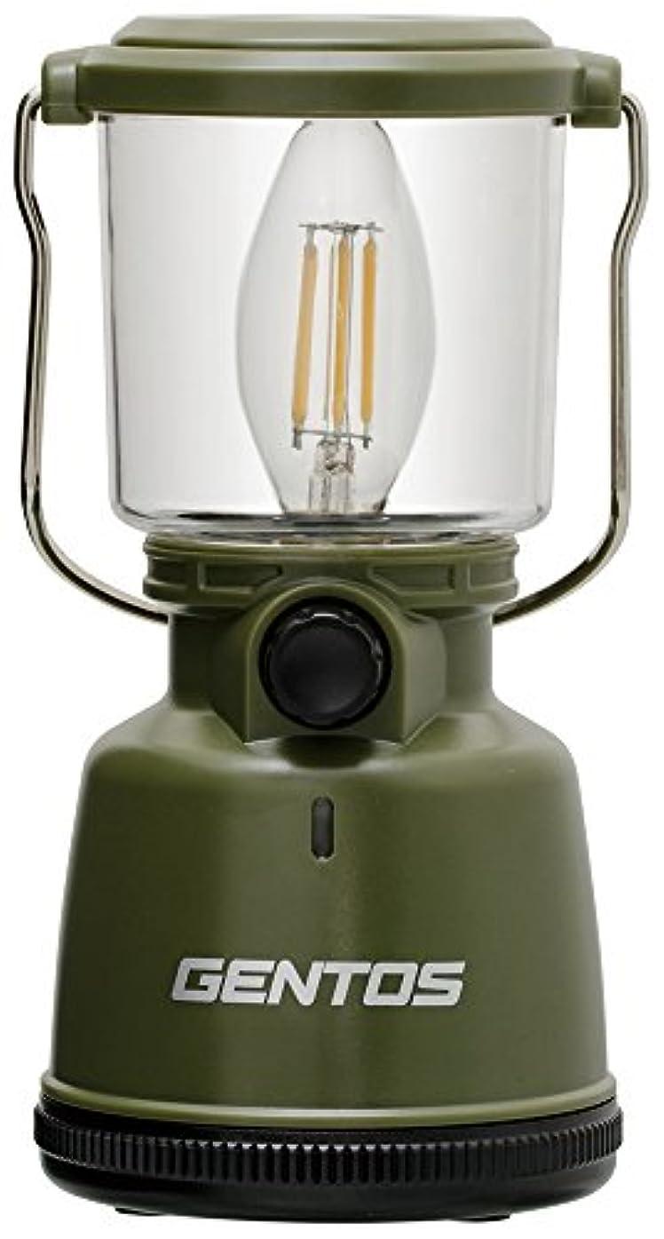 強風でひらめきGENTOS(ジェントス) LED ランタン 【明るさ400ルーメン/実用点灯30-200時間/防滴】 エクスプローラー EX-400F 防災 あかり 停電時用 ANSI規格準拠