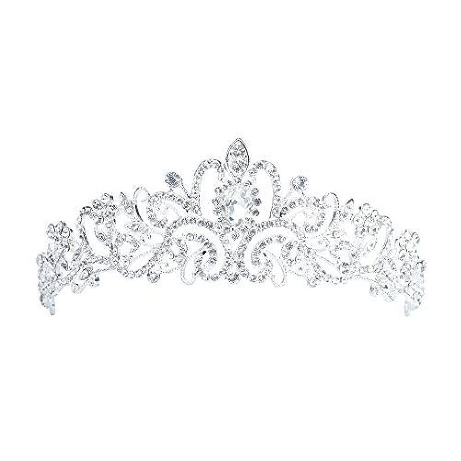 暗くする背が高い芸術Lermity Hair Comb Crown Rhinestone Hairpins Bridal Wedding Hair Accessories Jewelry Austrian Crystals Hair Clips...