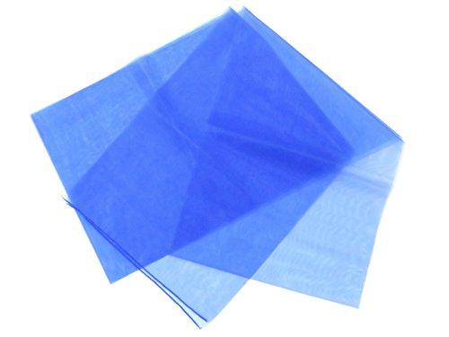 子供用浴衣帯 薄い生地の兵児帯(へこ帯)【青】PHB