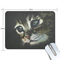 Anmumi マウスパッド 滑り止め 猫柄 19×25cm ゲームに適用 かわいい オシャレ レディース メンズ 子供 ゴム 実用性 パソコン対応