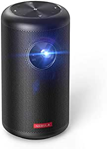 Anker Nebula Capsule II(世界初 Android TV搭載 モバイルプロジェクター)【200 ANSIルーメン / オートフォーカス機能 / 8W スピーカー】