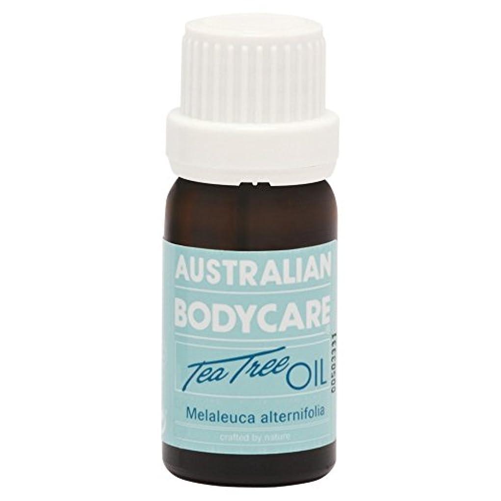 成分レーニン主義市長オーストラリアのボディケアティーツリーオイル10ミリリットル (Australian Bodycare) (x6) - Australian Bodycare Tea Tree Oil 10ml (Pack of 6) [並行輸入品]