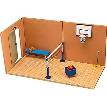 ねんどろいどプレイセット#07 体育館Bセット ノンスケール ABS&PVC製 ねんどろいど用ジオラマセット