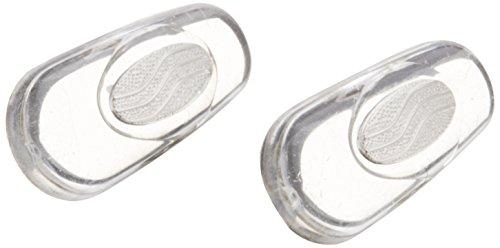鼻パット(シリコンタイプ)箱蝶極小(しずく型)[銀色] 2ペア -