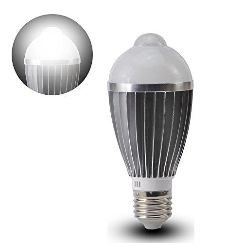 Selectec 9W LED電球 E26口金 60W相当 明暗 人感センサー 昼光色 6500K