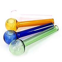 (ガラスパイプ) カラフルクラック ショートタイプ 携帯用クラック ch-1001