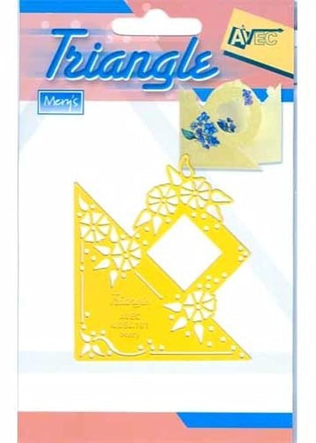 誇り特派員概念Ecstasy Crafts三角形テンプレート – Morning Glories ( ts101 )