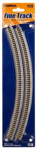 Nゲージ関連用品 カーブレール C391-45 (F) (2本セット) 1128