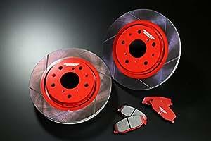 MONSTER SPORT ブレーキディスク&ブレーキパッド Type-S2セット(リヤ) カプチーノ(EA11R/EA21R) 431510-2800M