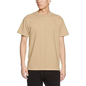 (ユナイテッドアスレ)UnitedAthle 5.6オンス ハイクオリティー Tシャツ 500101 537 サンドカーキ S