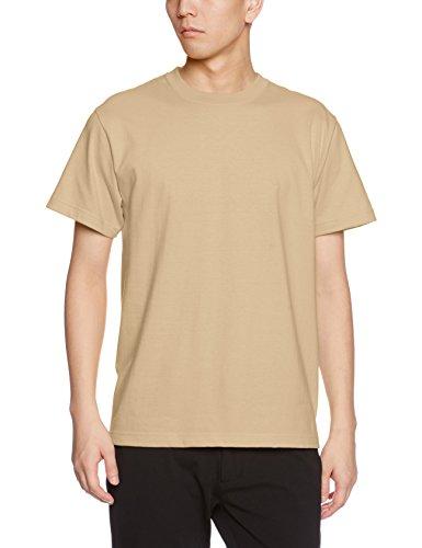 ユナイテッドアスレ 5.6オンス ハイクオリティー Tシャツ 500101 537 サンドカーキ XL