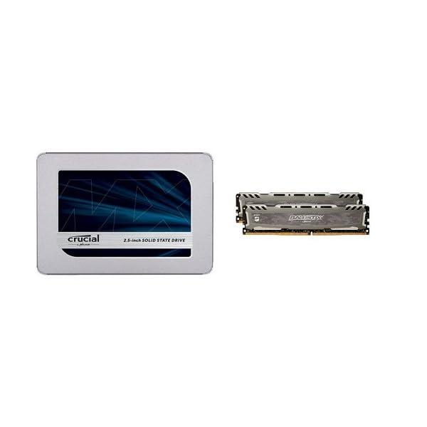 Crucial SSD 500GB 内蔵2.5イ...の商品画像
