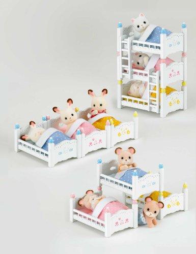 シルバニアファミリー 家具 赤ちゃん三段ベッド カ-213