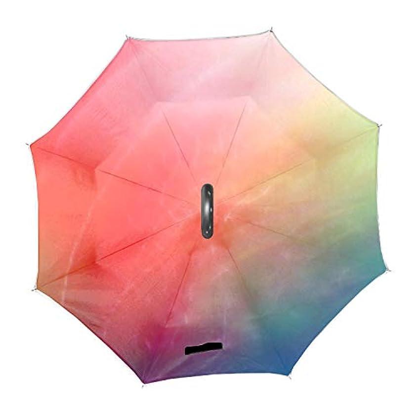 養う顧問着替える逆さ傘 日傘 長傘 逆折り式傘 逆傘 晴雨兼用 梅雨対策 UVカット 耐強風 C型 二重構造 車用 男女兼用抽象芸術のパターン