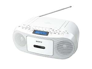 SONY CDラジオカセットコーダー ホワイト CFD-S50/W