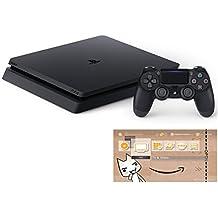 PlayStation 4 ジェット・ブラック 500GB (CUH-2100AB01) 【Amazon.co.jp限定】オリジナルカスタムテーマ (配信)