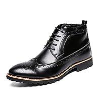 26.5レディース ブーツ マーティンブーツ ダンパー 暖かい- 摩るに強い 普通厚度 フラットヒール ローヒール1-3CM 6インチ ブーツ ゴアテックス ブーツ バイク