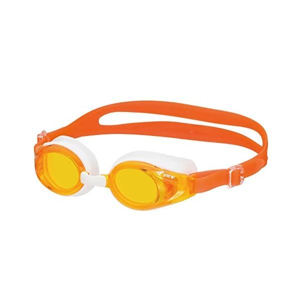 ビュー(VIEW) 子ども用ゴーグル オレンジ ...の商品画像